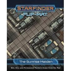 STARFINDER RPG FLIP MAT STARSHIP SUNRISE MAIDEN