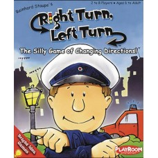 RIGHT TURN LEFT TURN CARD GAME