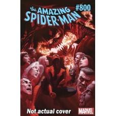 AMAZING SPIDER-MAN #800 2ND PRINTING ARTIST VAR LEG