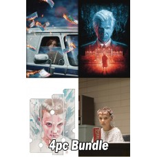 STRANGER THINGS SIX #1 CVR A B C D 4PC BUNDLE