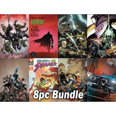 DC COMICS #1'S FROM MARCH PREVIEWS 8PC BUNDLE