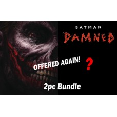 BATMAN DAMNED #3 REG & VARIANT 2PC BUNDLE - Offered Again