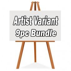MARVEL MARCH PREVIEWS ARTIST THEME VARIANT 9PC BUNDLE