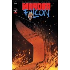 MURDER FALCON #8 CVR A JOHNSON & SPICER