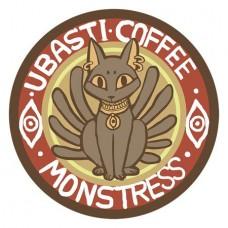 MONSTRESS UBASTI COFFEE PIN