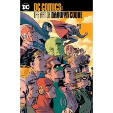 DC COMICS THE ART OF DARWYN COOKE TP