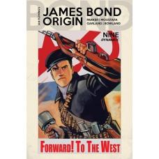 JAMES BOND ORIGIN #9 CVR E BOB Q