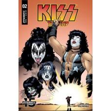 KISS END #2 CVR B COLEMAN