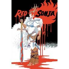 RED SONJA #4 CONNER VIRGIN CVR