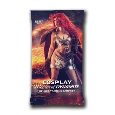 DYNAMITE COSPLAY TRADING CARD FOIL PACK