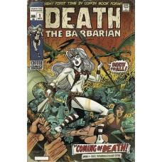LADY DEATH SWORN #1 DEATH THE BARBARIAN DAMAGED ED