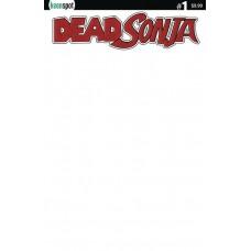 DEAD SONJA #1 CVR D BLANK SKETCH