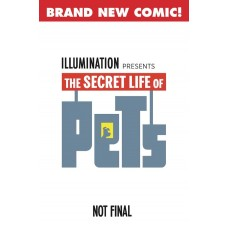 SECRET LIFE OF PETS #1 CVR B GOUM