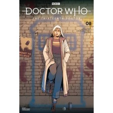 DOCTOR WHO 13TH #8 CVR A SPOSITO