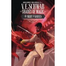 SHADES OF MAGIC #6 CVR B OLIMPIERI