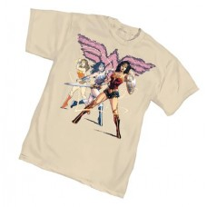WONDER WOMAN EMPOWERED T/S MED