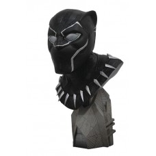 LEGENDS IN 3D MARVEL AVENGERS 3 BLACK PANTHER 1/2 SCALE BUST