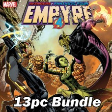 EMPYRE #3 AND REG COVER TIE IN ISSUES BUNDLE