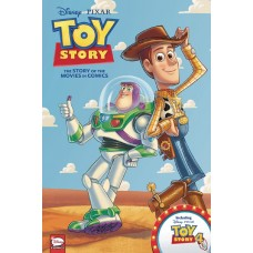DISNEY PIXAR TOY STORY THE STORY OF THE MOVIES IN COMICS HC