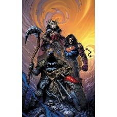 DARK NIGHTS DEATH METAL #1 (OF 6) DAVID FINCH BATMAN VAR ED