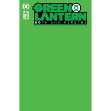 GREEN LANTERN 80TH ANNIV 100 PAGE SUPER SPECT #1 BLANK VAR E