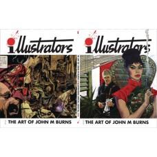ILLUSTRATORS SPECIAL #8 ART OF JOHN M BURNS