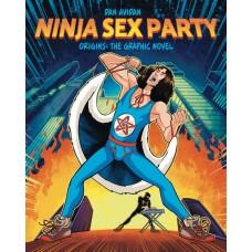 NINJA SEX PARTY GN VOL 01 ORIGINS AVIDAN & WECHT
