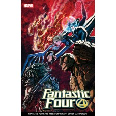 FANTASTIC FOUR #32 SUPERLOG PREDATOR VAR