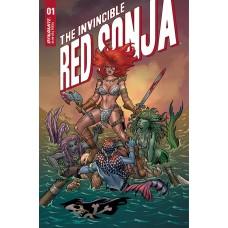 INVINCIBLE RED SONJA #1 CVR A CONNER
