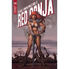 INVINCIBLE RED SONJA #1 CVR B LINSNER