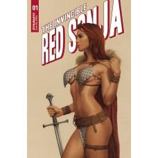 INVINCIBLE RED SONJA #1 CVR C CELINA