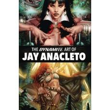 DYNAMITE ART OF JAY ANACLETO HC