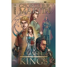 GEORGE RR MARTIN A CLASH OF KINGS #14 CVR B RUBI (MR)