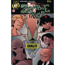 ZOMBIE TRAMP ONGOING #82 CVR B MACCAGNI RISQUE (MR)