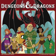 DUNGEONS & DRAGONS ANIMATED 2022 16 MONTH WALL CALENDAR (C: