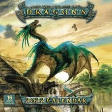 DRAGONS BY CIRUELO 2022 WALL CALENDAR (C: 0-1-1)