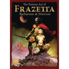 FANTASY ART OF FRAZETTA 2022 WALL CALENDAR (C: 0-1-1)