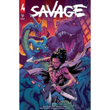 SAVAGE (2020) #4 CVR A TO