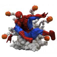 MARVEL GALLERY PUMPKIN BOMB SPIDER-MAN PVC STATUE (C: 1-1-2)