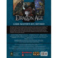 DRAGON AGE RPG GAME MASTERS KIT REVISED ED