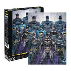 AQUARIUS BATMAN BATSUITS 500PC PUZZLE (C: 1-1-2)