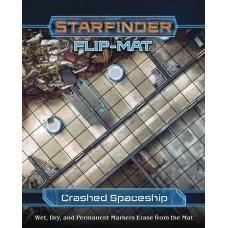 STARFINDER FLIP-MAT CRASHED STARSHIP