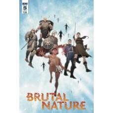BRUTAL NATURE CONCRETE FURY #5 (OF 5) CVR B OLIVETTI