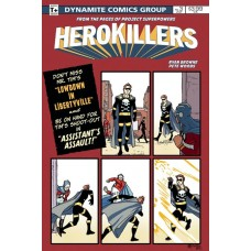 PROJECT SUPERPOWERS HERO KILLERS #3 CVR A WOODS