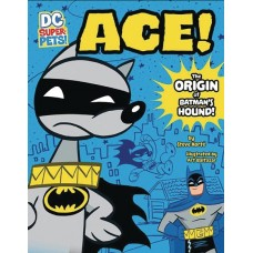 DC SUPER PETS ACE ORIGIN OF BATMANS DOG