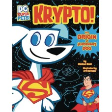 DC SUPER PETS KRYPTO ORIGIN OF SUPERMANS DOG