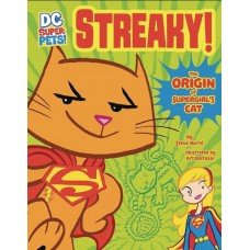 DC SUPER PETS STREAKY ORIGIN OF SUPERGIRLS CAT