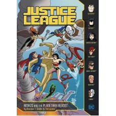 JUSTICE LEAGUE YR TP AMAZO AND PLANETARY REBOOT