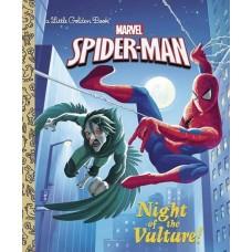 SPIDER MAN NIGHT OF VULTURE LITTLE GOLDEN BK