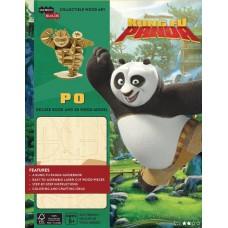 INCREDIBUILDS DREAMWORKS KUNG FU PANDA DLX MODEL W BOOK